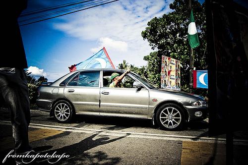 PRU sabak bernam; halau dorang! | Credit: