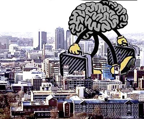 Stop Brain Drain | Credit: http://www.flickr.com/photos/saulalbert/