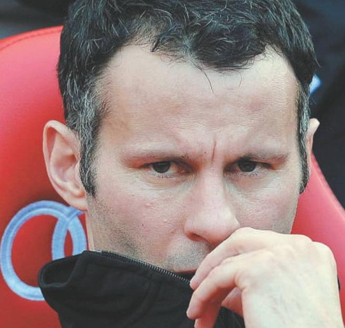 Unmasked: Giggs obtained a super injunction to keep his alleged six-month extra-marital affair with reality TV star Thomas a secret but it soon became the world's most revealed secret. - AFP