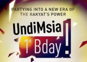 UndiMsia! 1st Bday: Partying into a new era of the Rakyat's Power