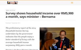 Dear Paprika: Dear Minister, RM5900 Per Household My Foot!