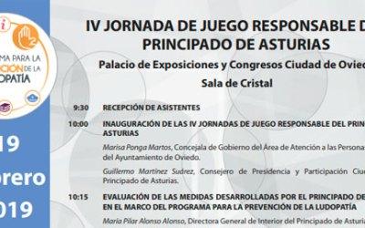 IV Jornada de juego responsable en Asturias