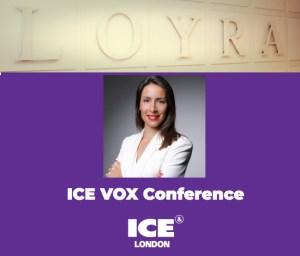 ICE VOX London, mujer sonriendo.