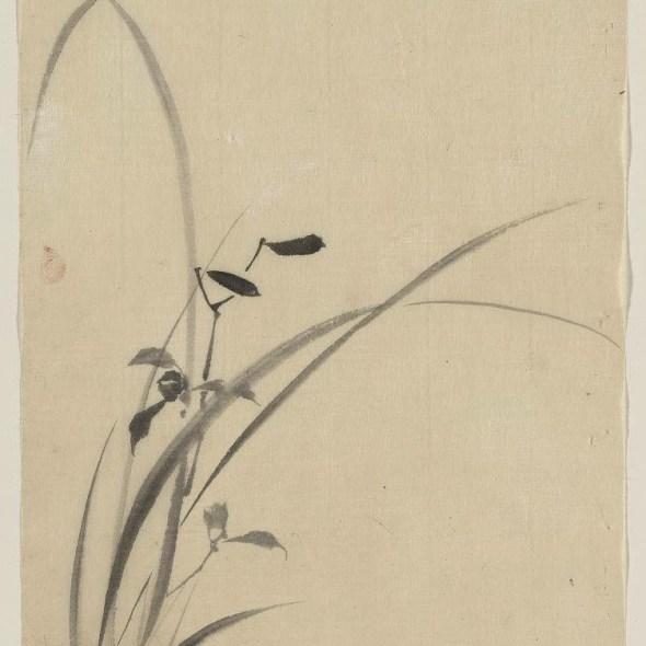 Japanese grass art