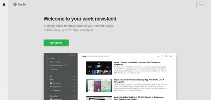 Feedly RSS Feed