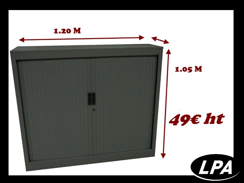 armoire metallique basse dossiers