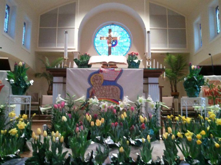 Easter alter