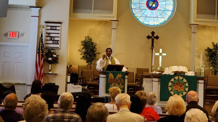 Welcome Service for Pastor Kurien, July 7