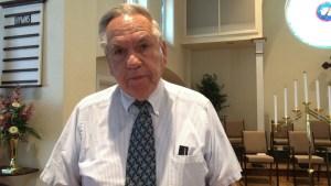 Rev. Larry Carl - pulpit