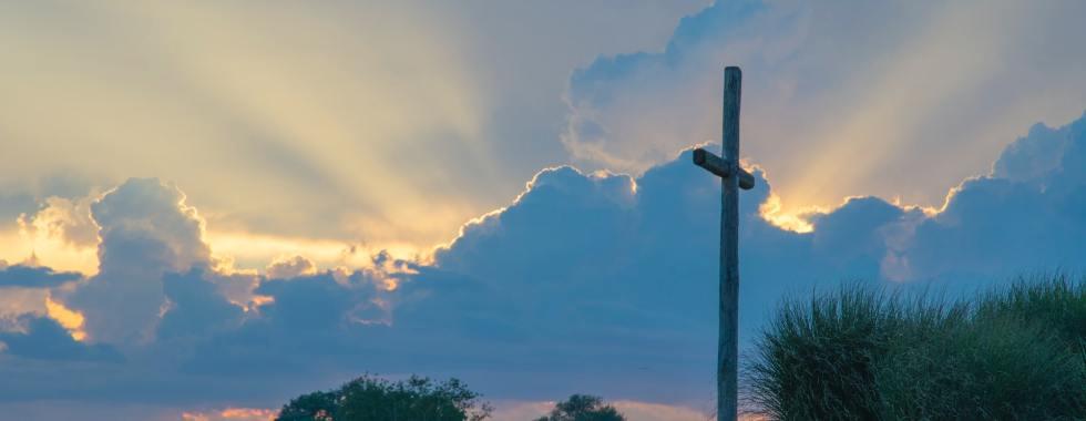 Cross At Sunset - Photo By David Dibert On Unsplash