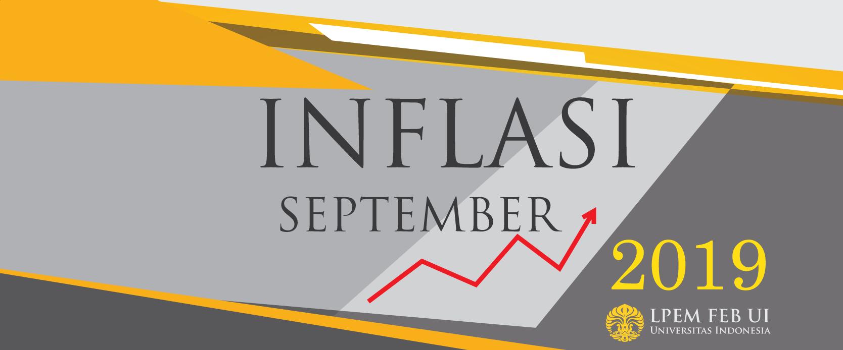 SERI ANALISIS MAKROEKONOMI: Inflasi Bulanan, September 2019