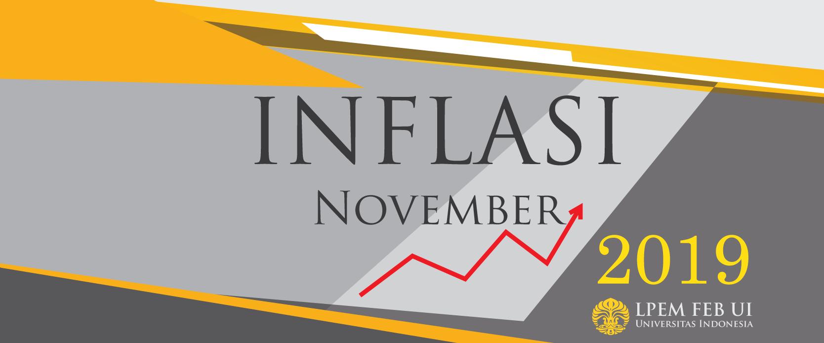 SERI ANALISIS MAKROEKONOMI: Inflasi Bulanan, November 2019