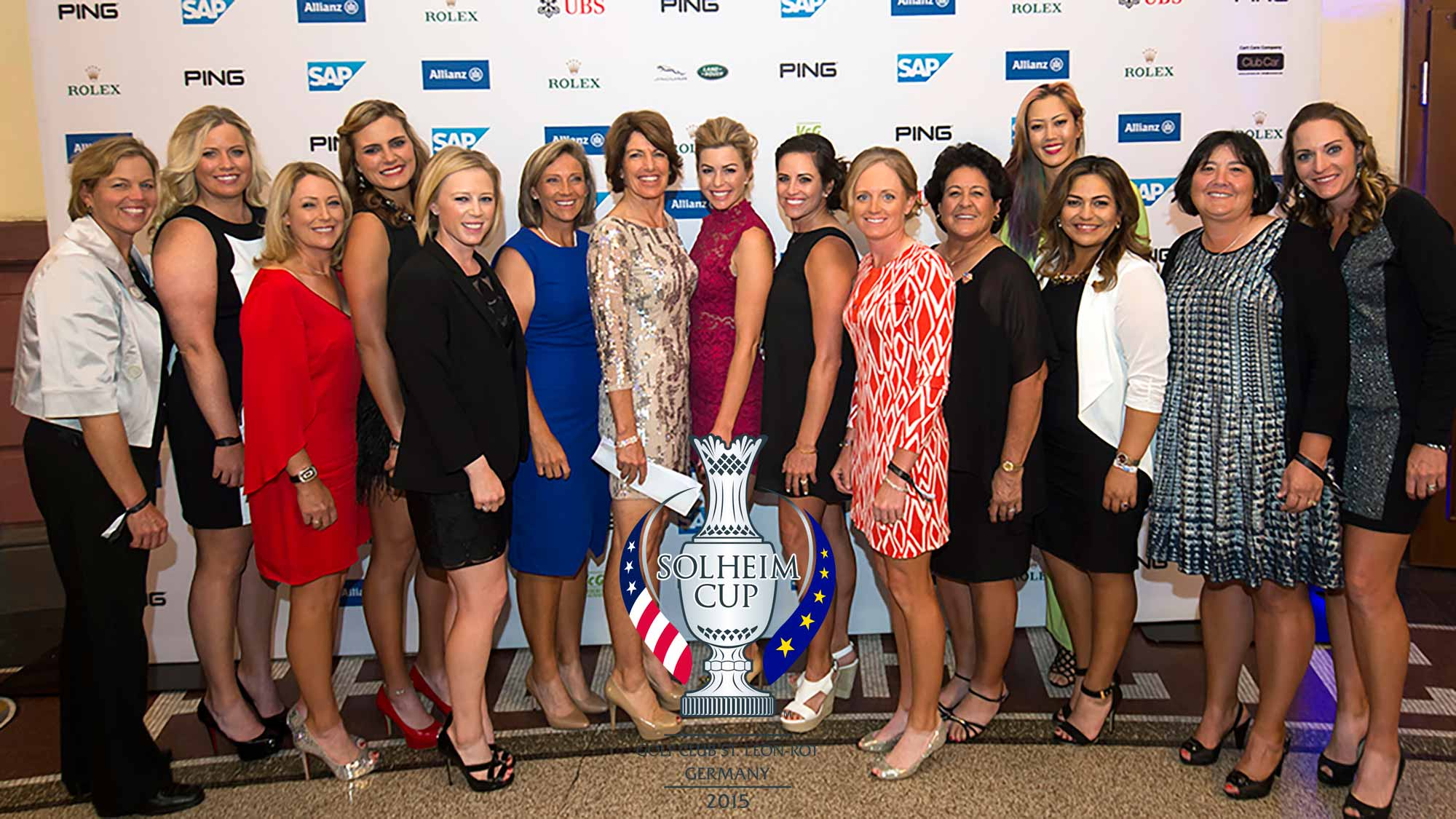 Players Decked Out In Style At Solheim Cup Gala LPGA