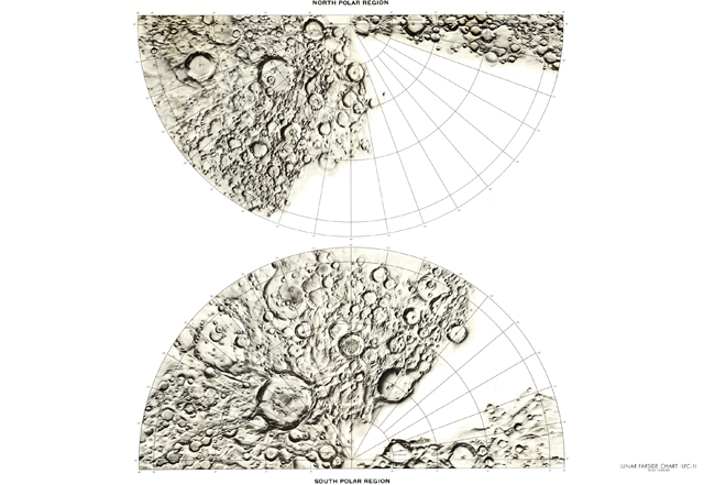 LPI Lunar Farside Chart LFC-1B