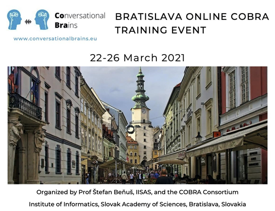 A look back at the Bratislava Online COBRA Training Event… and perspectives!