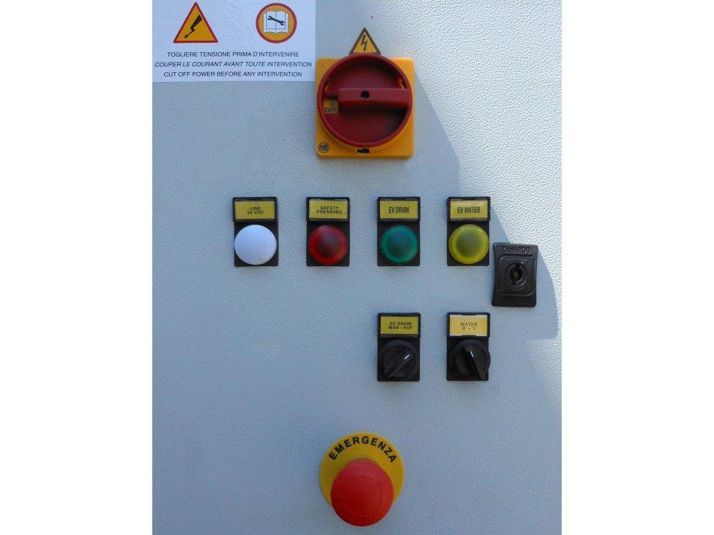Accumulatore di vapore - Quadro elettrico