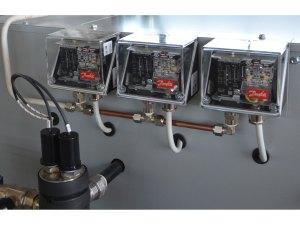 Generatore di vapore - Pressostati