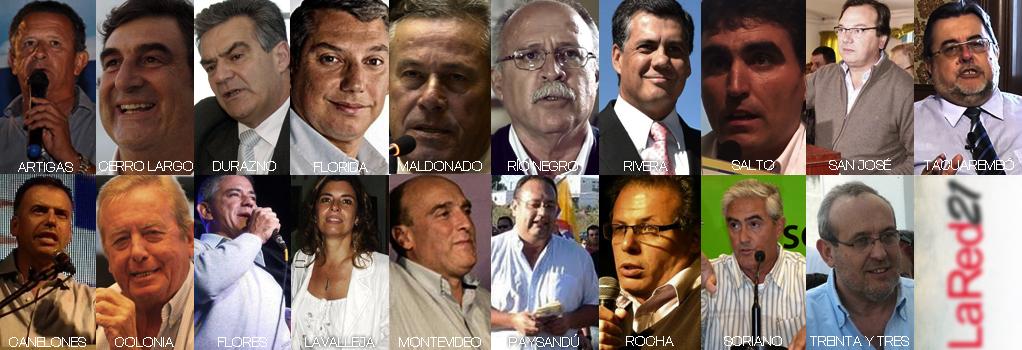 Uruguay eligió sus 19 intendentes quienes asumirán sus funciones el 8 de julio