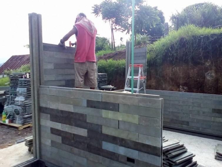 Las casas podrán ser construidas por 4 personas sin que sean expertos en obras. Foto: Conceptos Plásticos.