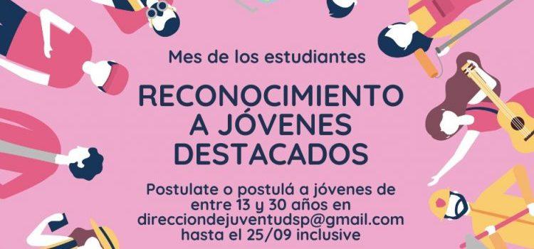 """El Municipio presenta el """"Certamen Jóvenes Destacados"""""""