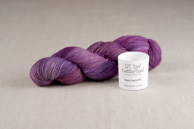 Stout Sock BFL - Grape Jolly