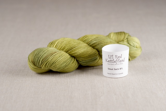 Stout Sock BFL - Limelight