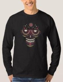 Black Mask Long Sleeve T-Shirt