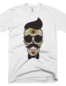 Skull Man - Short sleeve men's t-shirt 4