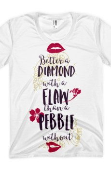 Better as a Diamond - Women's sublimation t-shirt