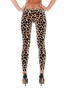 Leopard Print Leggings 2