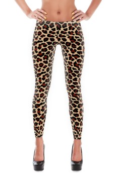 Leopard Print Leggings 3