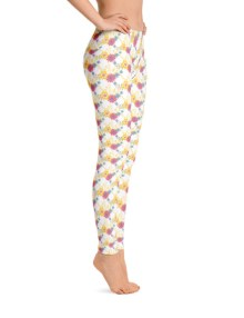 Floral Flower Pattern Leggings