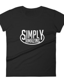 Simply Amazing - Dark Woman's Tee 7