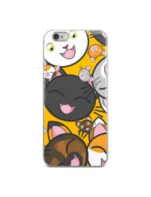 Happy Cats iPhone Case 6