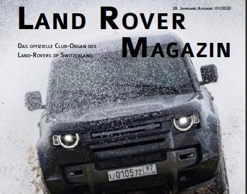 Cover Club Magazin 1/2020