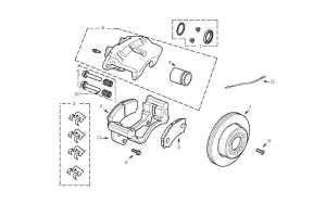 [2000 Land Rover Discovery Brake Replacement System