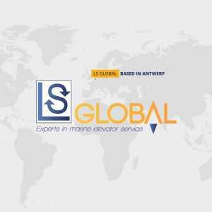 LS Global Marine Elevator Service Antwerp Harbor maintenance