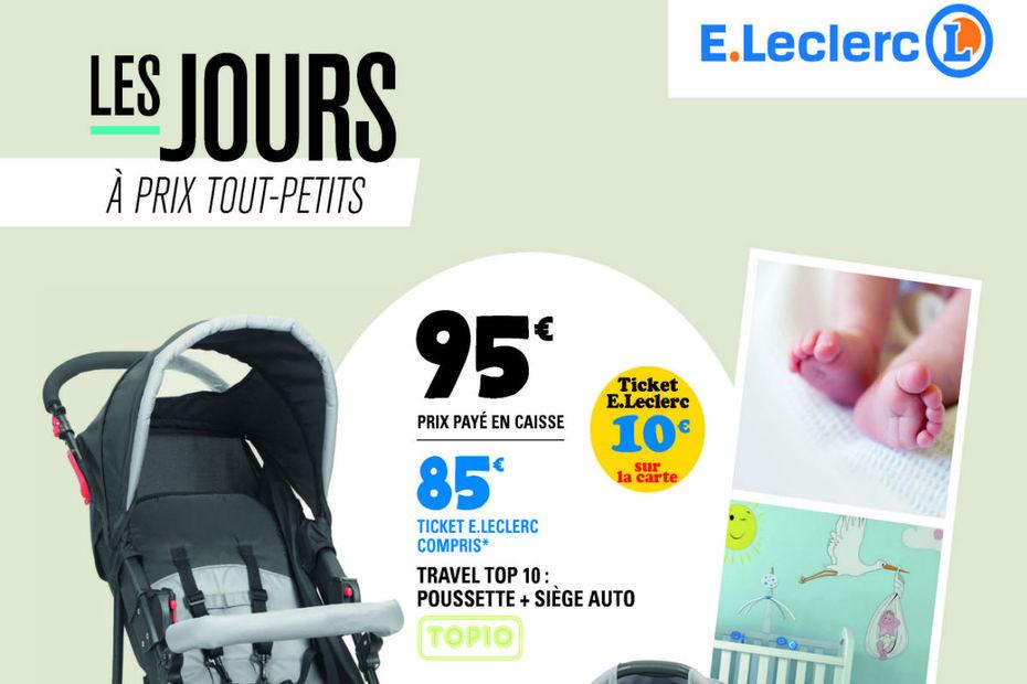 leclerc lance son catalogue special