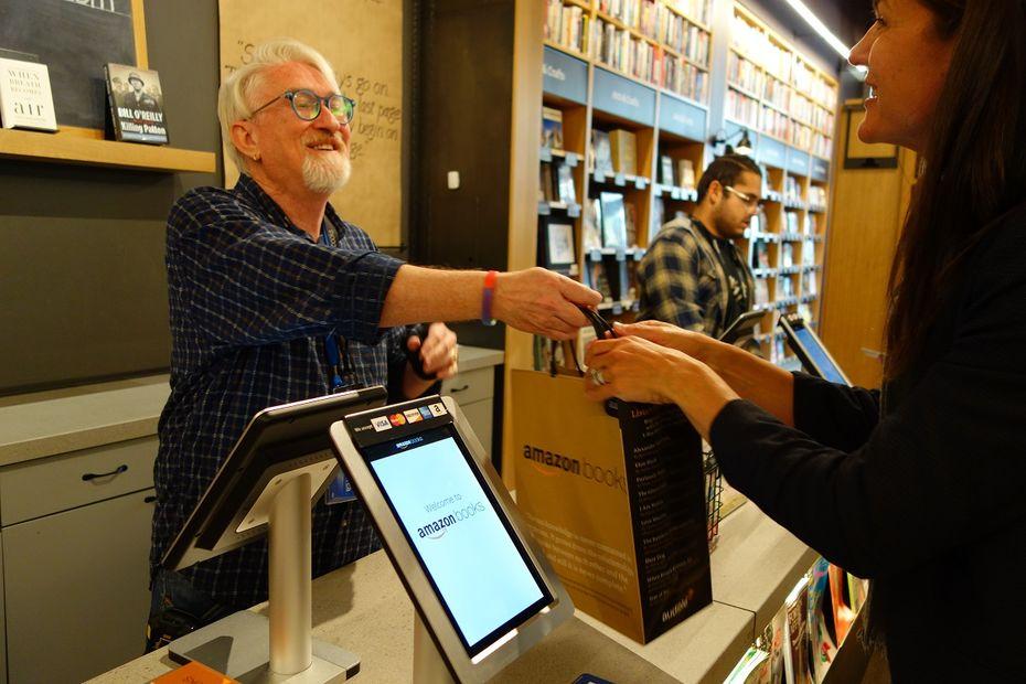 Visite guidée de l'Amazon Books de University Village, à Seattle