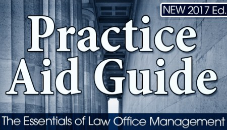 Practice Aid Guide  The Essentials of Law Office Management