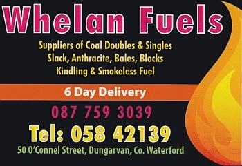 Whelan Fuels Coal Merchant Dungarvan