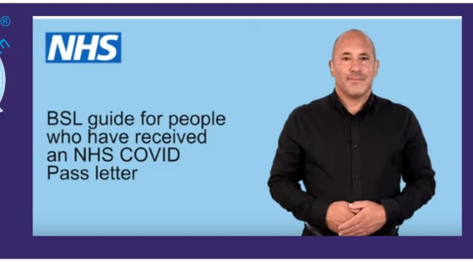 BSL Guide for NHS COVID-19 Post-vaccination