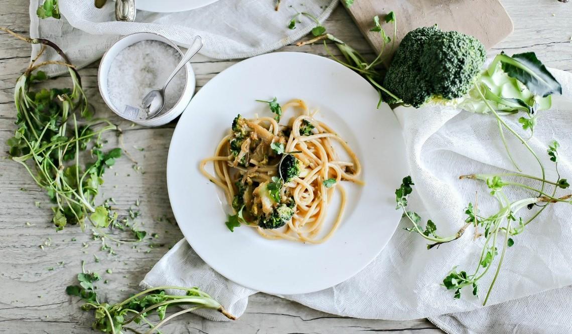 Spaghetti di Gragnano con broccoli