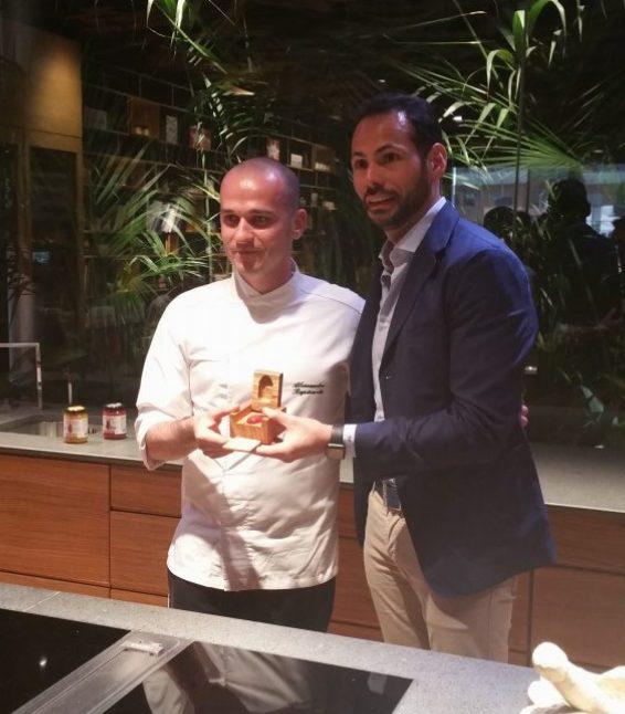 """Fabio Palo ed Alessandro Rapisarda, vincitore del premio """"Cosi Com'è - Coltiviamo Talenti"""""""