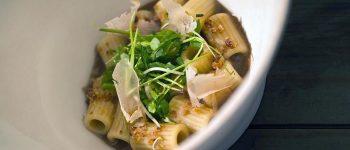 Pasta e Merulla – Verza fermentata, Katsuobushi di Cotenna di Maiale di Antonio Biafora