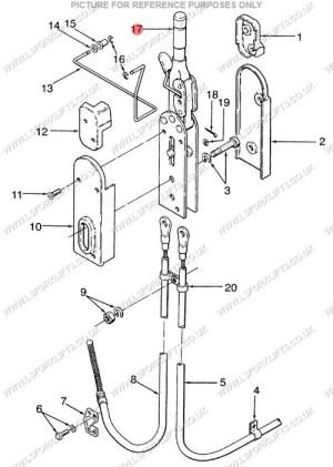 HYSTER HAND BRAKE (LS1371) | Lsfork Lifts
