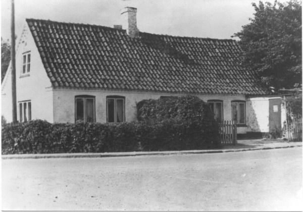 Jens Morgensens hus hjørnet Ledøje Bygade / Ledøjetoften