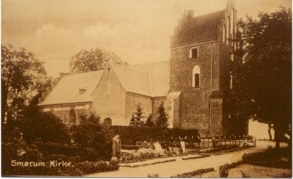 Smørum kirke 1930