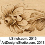 realistic pyrography patterns