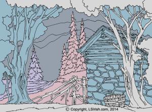 Lora Irish Stone Barn Levels Pattern